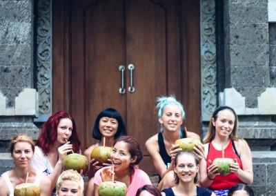 Coconuts at The Hoop Dream Retreat