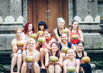 Coconuts at The Hoop Dream Retreat Bali