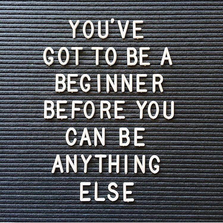 Beginner quote